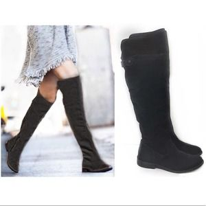 Frye Shirley Over the Knee Suede Boot